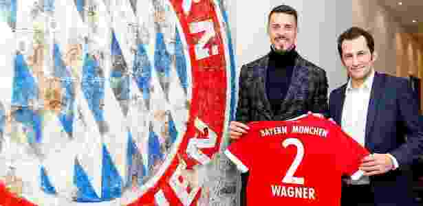 Sandro Wagner é o primeiro reforço do Bayern de Munique para 2018 - Divulgação/Bayern de Munique