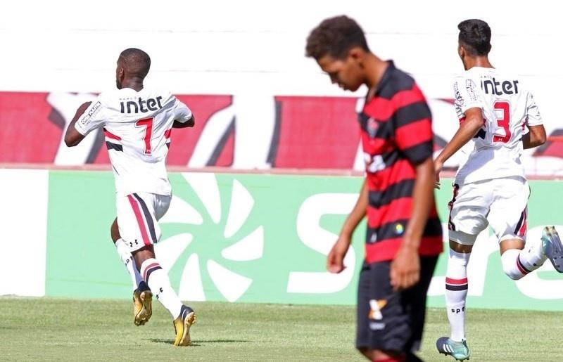 São Paulo Toró Copinha Vitória