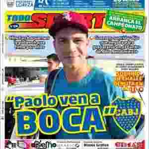 Paolo Guerrero Boca Juniors jornal - TodoSport/Reprodução - TodoSport/Reprodução