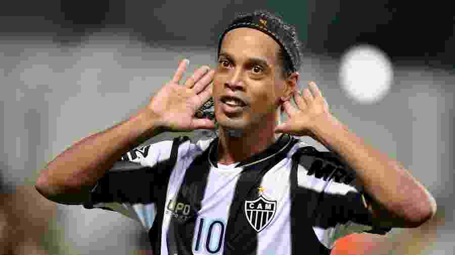 Ronaldinho Gaúcho é ídolo do Atlético-MG e venceu títulos importantes pelo clube - Pedro Vilela / Agencia i7