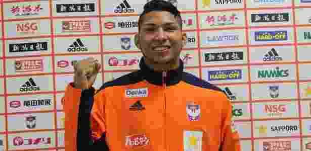 Rony já pode ser registrado no BID pelo Atlético-PR - Reprodução/Albirex Niigata