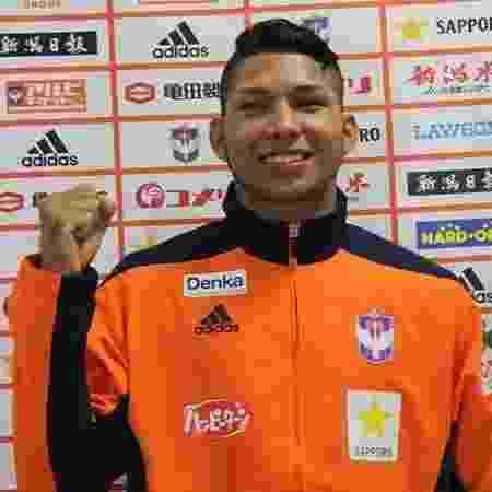 Rony, atacante do Albirex Niigata, equipe japonesa - Reprodução/Albirex Niigata - Reprodução/Albirex Niigata