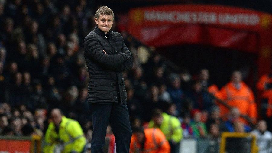Ole Gunnar Solskjaer será o técnico-interino do Manchester United após a saída de José Mourinho - Andrew YATES / AFP