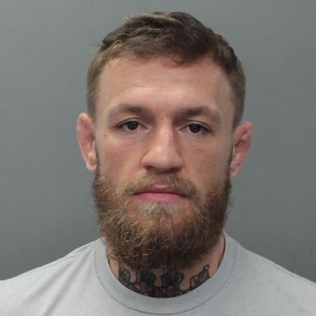 Conor McGregor foi detido nos Estados Unidos - divulgação/Miami Beach Police