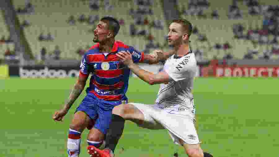 Kieza jogou a última temporada por Botafogo e Fortaleza - Pedro Chaves/AGIF