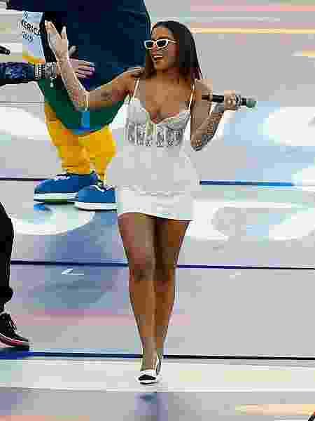 Anitta durante apresentação no Maracanã - Wagner Meier / Stringer - Wagner Meier / Stringer