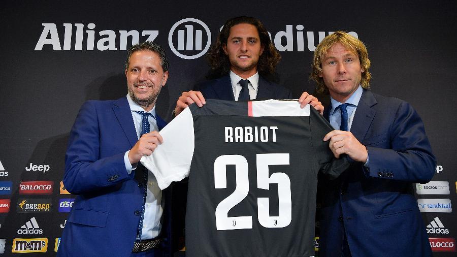 Adrien Rabiot pode deixar a Juventus e atuar pelo Newcastle na próxima temporada - Juventus FC/Getty Images