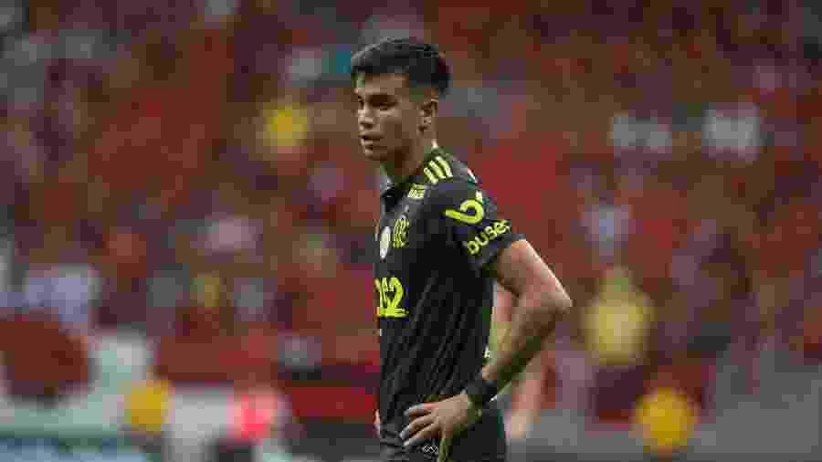 Flamengo não quer liberar Reinier para disputar o Mundial sub-17 com a seleção brasileira  - Alexandre Vidal / Flamengo