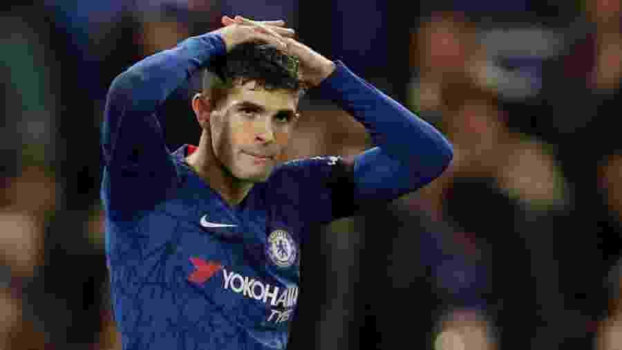 Pulisic, jogador do Chelsea - John Sibley/Reuters