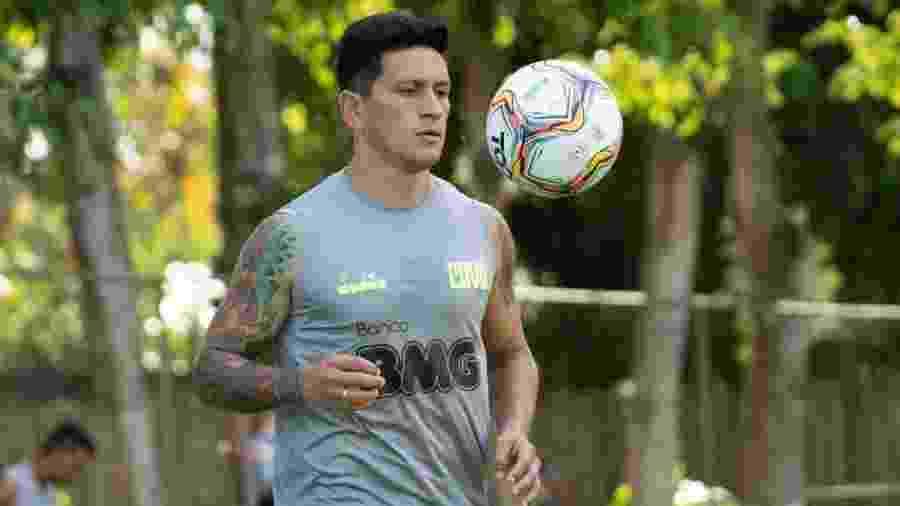 Atacante Germán Cano terá a companhia de mais dois gringos no Cruz-Maltino - Carlos Gregório Júnior / Vasco