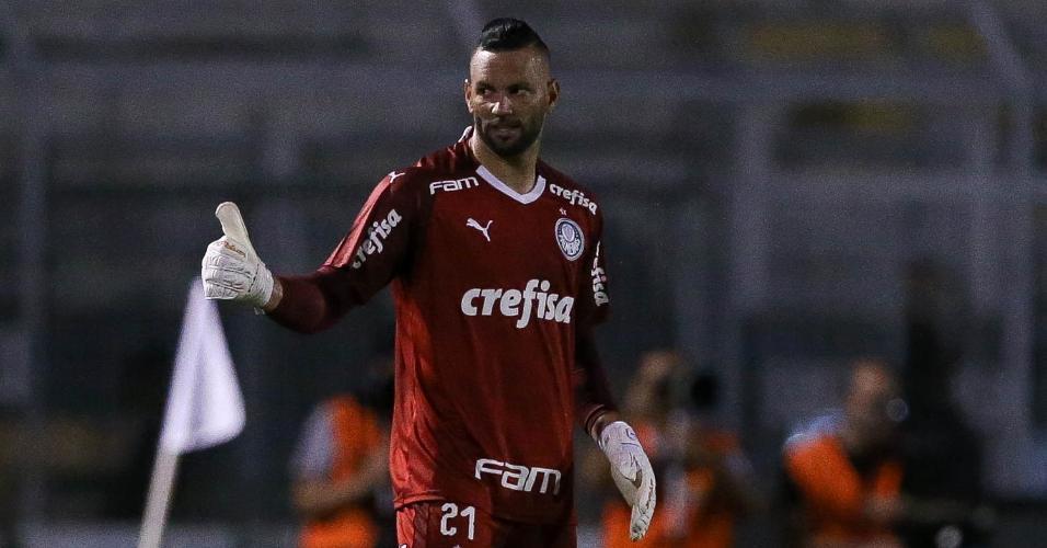 Weverton é um dos destaques do Palmeiras de Vanderlei Luxemburgo na temporada