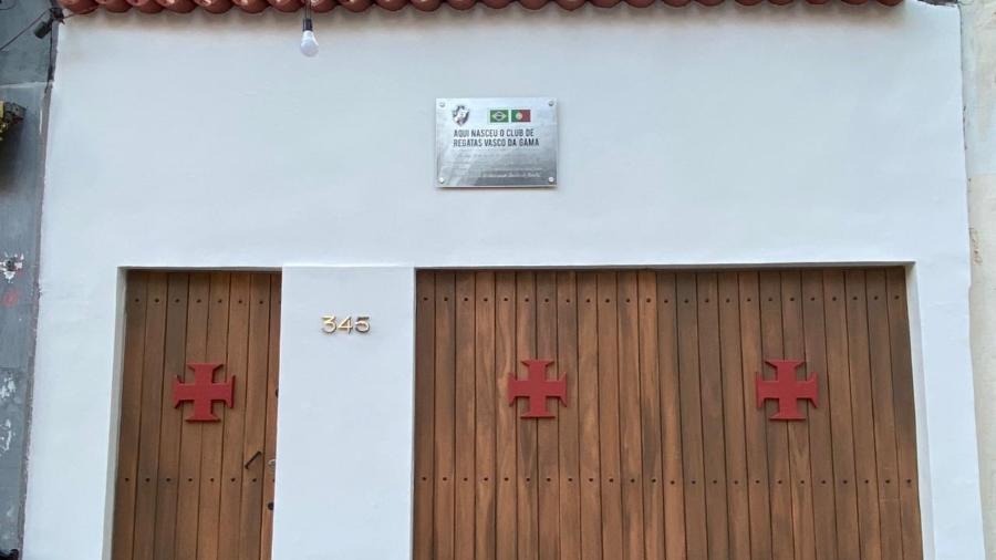 Grupo de vascaínos revitalizou casa no centro do Rio em que ocorreu a reunião onde o Vasco foi fundado - Reprodução