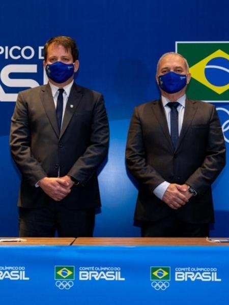 Marco La Porta e Paulo Wanderley - Divulgação/COB