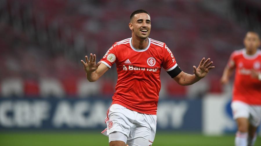 Thiago Galhardo prega respeito a rivais da chave do Internacional na Libertadores - Ricardo Duarte/Inter