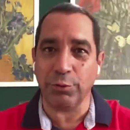 Zinho, comentarista dos canais Disney - Reprodução/ESPN Brasil