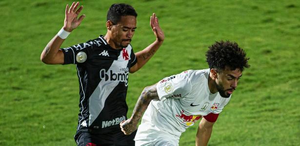Série A do Brasileirão | Red Bull Bragantino goleia por 4 a 1 e deixa Vasco perto de voltar para o Z4