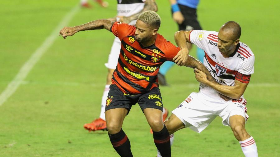 Sport tenta se recuperar de derrota para o São Paulo na Ilha do Retiro - MARLON COSTA/FUTURA PRESS/ESTADÃO CONTEÚDO