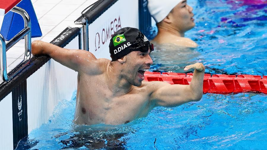 Daniel Dias, maior atleta paralímpico do Brasil, levou três medalhas de bronze na capital japonesa - Alex Davidson/Getty Images