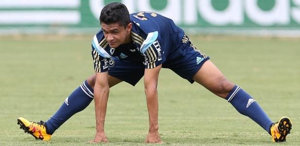 Erik espera ter sequência como titular no Palmeiras após conversa com Cuca