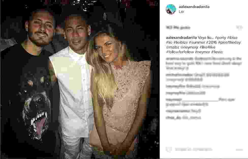 Neymar curte descanso em Ibiza após fim de temporada com o Barcelona - Instagram/Reprodução