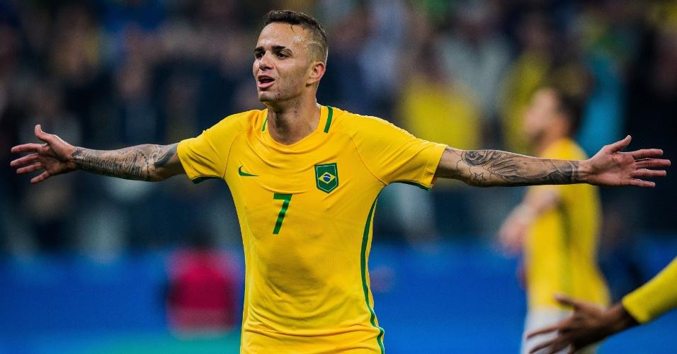 Luan marca o segundo, Brasil vence a Colômbia e vai à semifinal