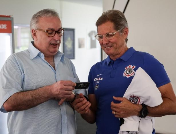 Roberto de Andrade foi idealizador da contratação de Oswaldo de Oliveira - Rodrigo Gazzanel/Agência Corinthians