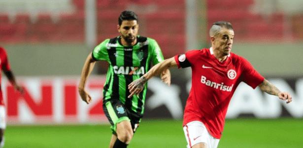 Internacional e América-MG se enfrentam pela Série B do Brasileirão