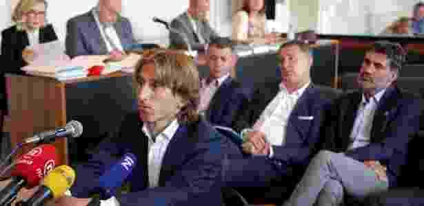 Modric depõe sobre investigação de corrupção na Croácia - AFP