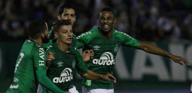 Chapecoense ocupa a quinta colocação do Campeonato Brasileiro