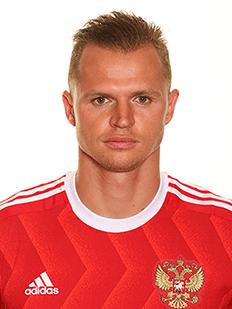 Dmitri Tarasov, meia da Rússia