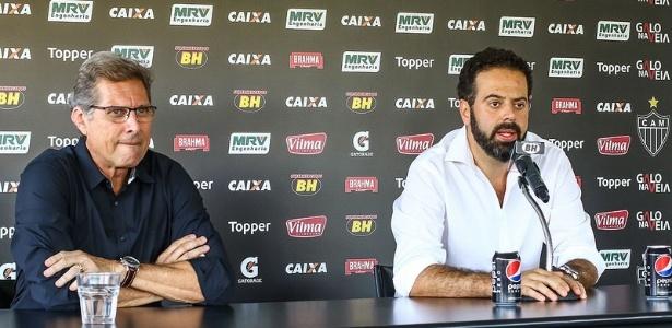 Oswaldo de Oliveira foi escolhido por Daniel Nepomuceno para assumir o comando do Atlético-MG