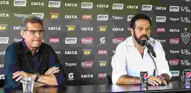 Oswaldo de Oliveira foi escolhido por Daniel Nepomuceno para assumir o comando do Atlético-MG - Bruno Cantini/Clube Atlético Mineiro