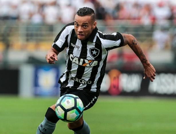 O meia-atacante Guilherme estava emprestado ao Botafogo