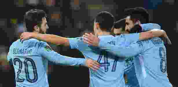 Bernardo Silva anotou o gol do Manchester City no tempo normal - Paul Ellis/AFP