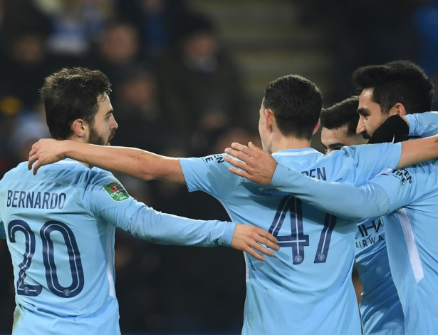 Bernardo Silva anotou o gol do Manchester City no tempo normal
