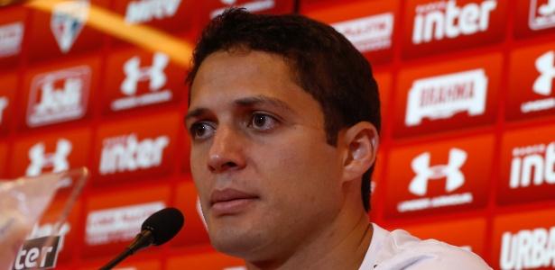 Anderson Martins fez contrato de três temporadas com o São Paulo