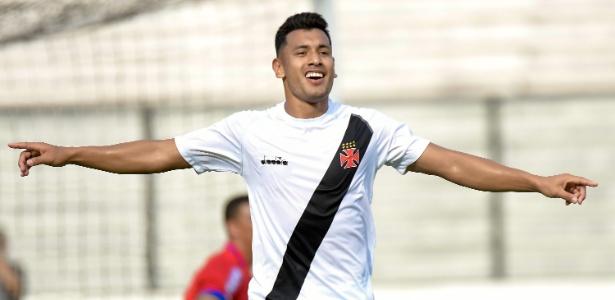 Argentino Andrés Rios fez quatro gols pelo Vasco na temporada de 2018