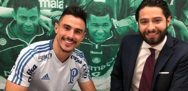 Willian é o artilheiro do Palmeiras no Campeonato Brasileiro - Divulgação