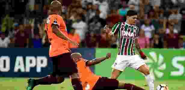 Fluminense perde para o Atlético-PR e é eliminado - Thiago Ribeiro/AGIF