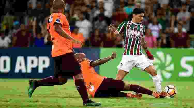Ayrton Lucas - Thiago Ribeiro/AGIF - Thiago Ribeiro/AGIF