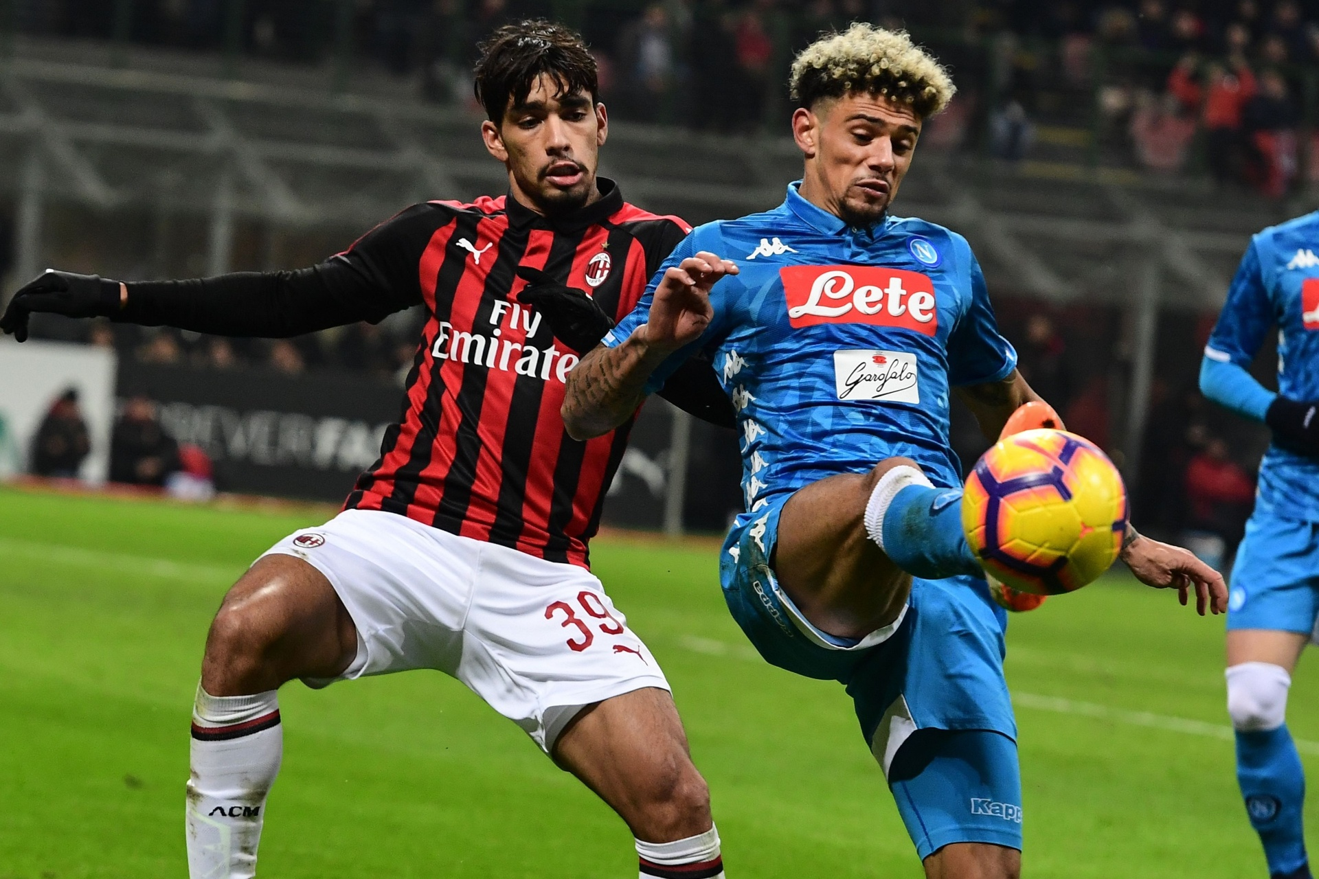 13385e39a7 Milan e Napoli ficam no empate no primeiro jogo de Paquetá no San Siro -  26 01 2019 - UOL Esporte