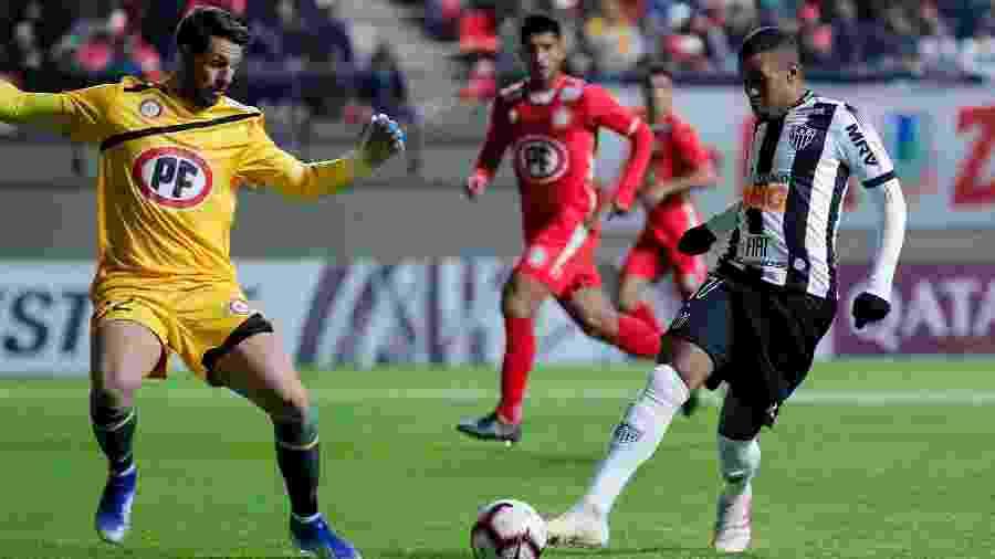 Time misto do Galo foi praticamente inoperante durante toda a partida e acabou derrotado por 1 a 0 - Bruno Cantini / Atlético