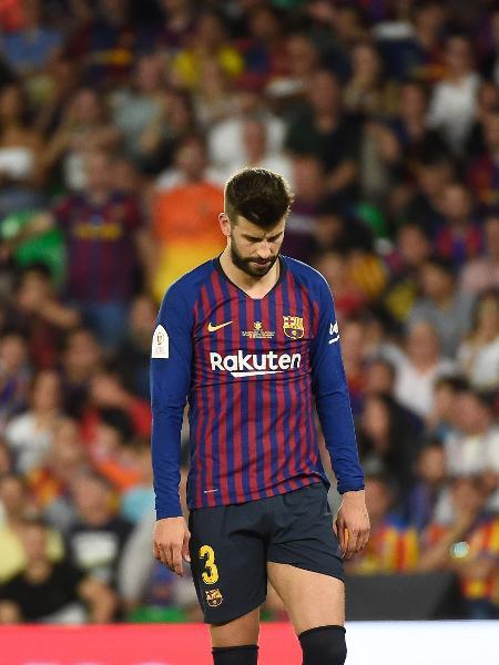 Gerard Piqué, zagueiro do Barcelona  - Jose Jordan/AFP