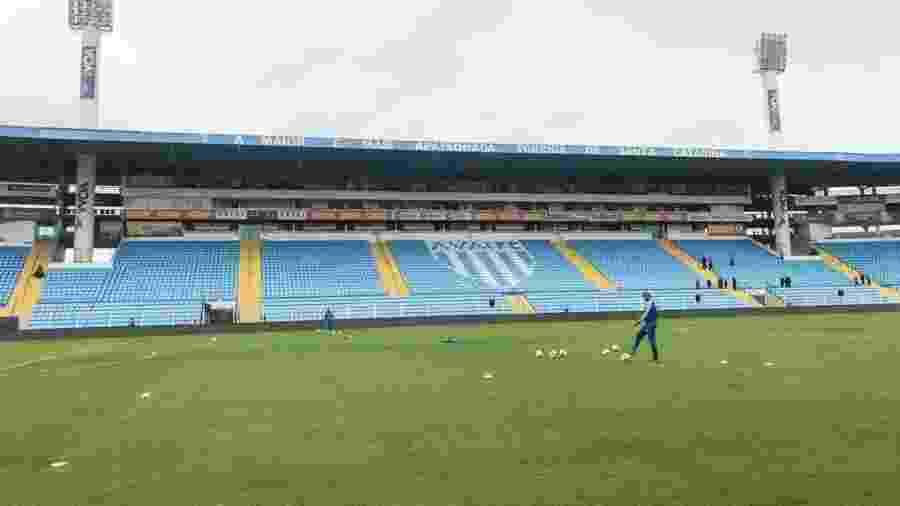 Avaí não receberá Flamengo no estádio da Ressacada, em Florianópolis - Divulgação/Avaí