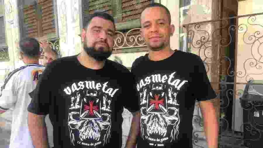"""Torcedores do Vasco e fãs de Iron Maiden fizeram """"dobradinha"""" entre Rock in Rio e São Januário - Bruno Braz / UOL"""