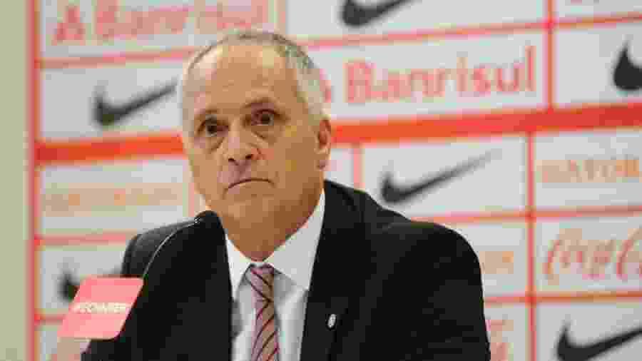 Marcelo Medeiros, presidente do Internacional, realizou exames de coronavírus (covid-19) - Divulgação/SC Internacional