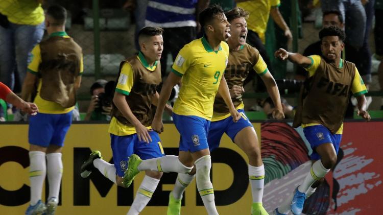 De pênalti, Kaio Jorge empatou para o Brasil diante do México - REUTERS/Ueslei Marcelino