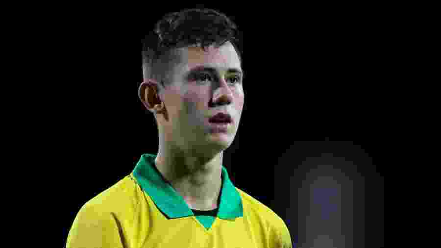 Patryck, lateral-esquerdo do São Paulo, foi campeão do mundo com a seleção brasileira sub-17 - Heber Gomes/AGIF