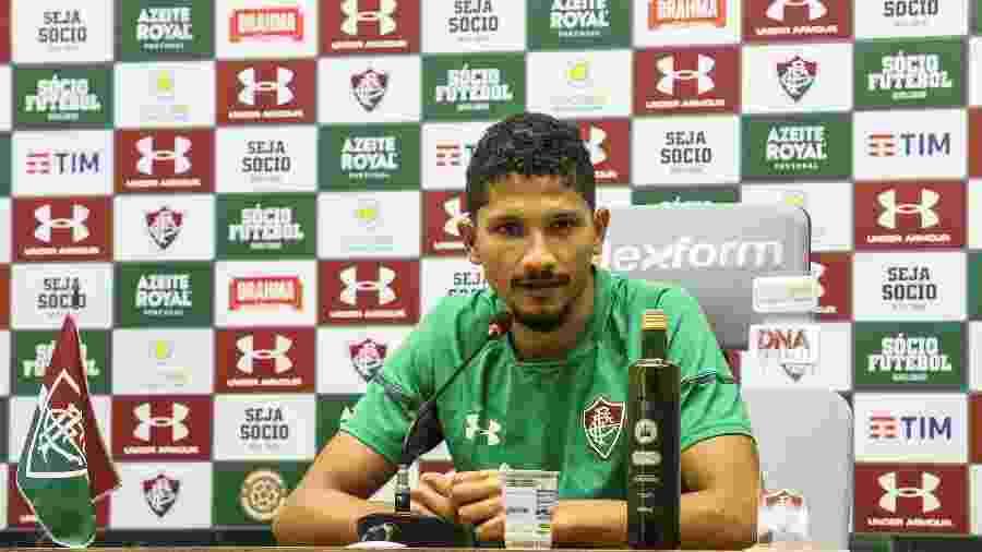Yuri projetou bom 2020 para o Fluminense - Lucas Merçon/Fluminense FC