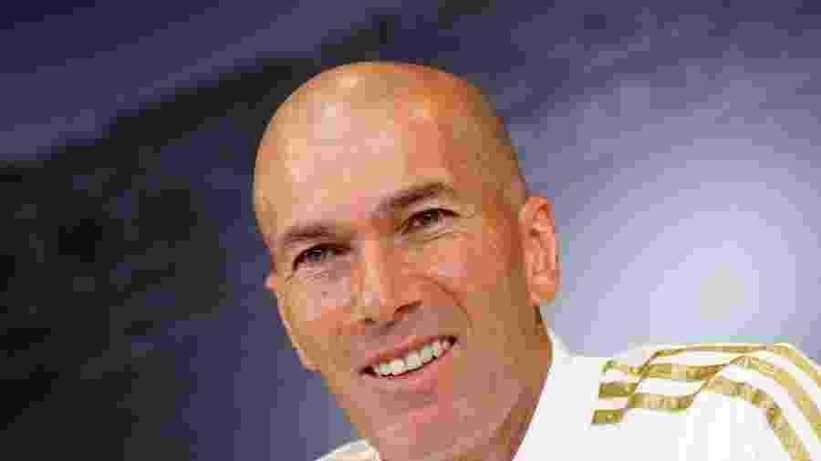 Zinedine Zidane, técnico do Real Madrid, falou sobre novo formato da Champions League - Juan Medina/Reuters